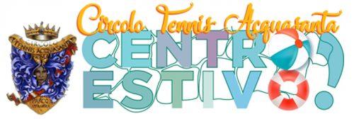 Logo Centro estivo Acquasanta 2019
